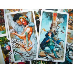 Очарованное таро (Tarot of the Hidden Folk) Tarots of the Golden Dawn