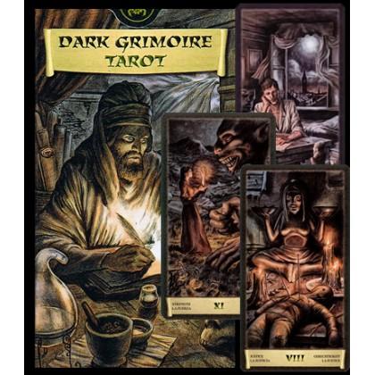 Таро Чёрный Гримуар (Некрономикон)