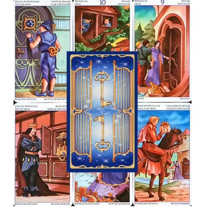 Карты таро 78 дверей цена карта волшебника таро